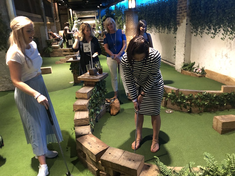 LAH PROPERTY MARKETING'S CRAZY GOLF DAY
