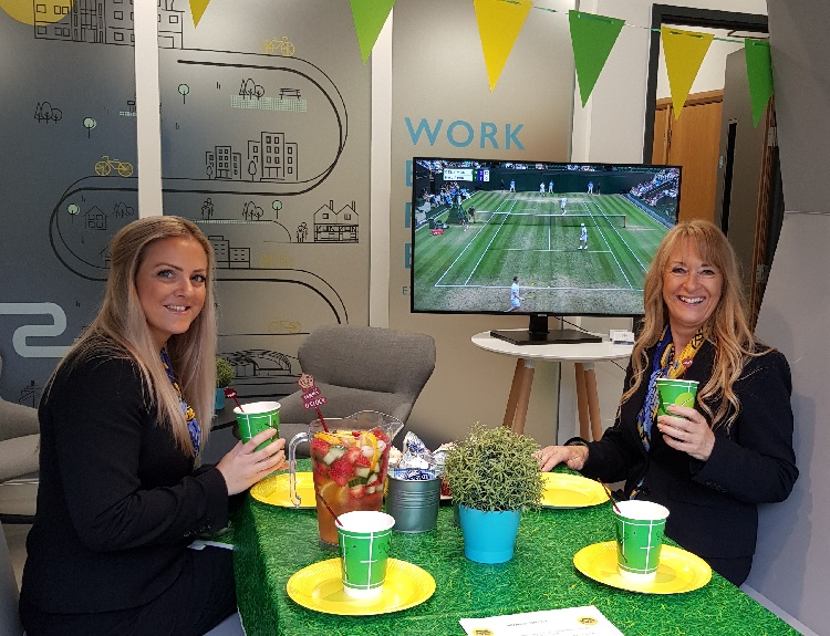 Wimbledon comes to One Dorset Street in Southampton