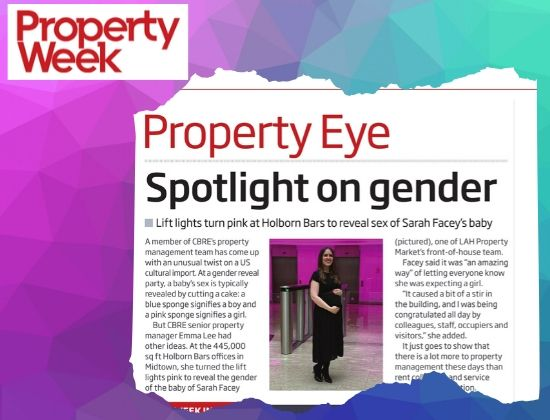 LAH Property Marketing in Property Week