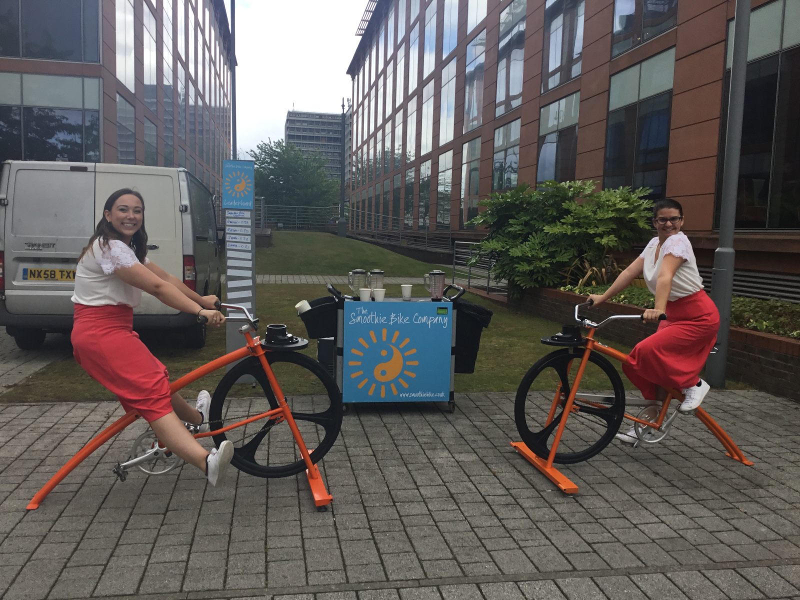 Pedal power provides smooth perfection at Waterfront in Hammersmith